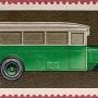 """Почтовая марка СССР - 4370, """"Двадцатиодноместный автобус ЗИС-8, 1934г."""""""